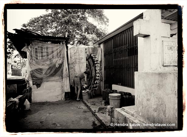 A 'house' at the Manila North Cemetery