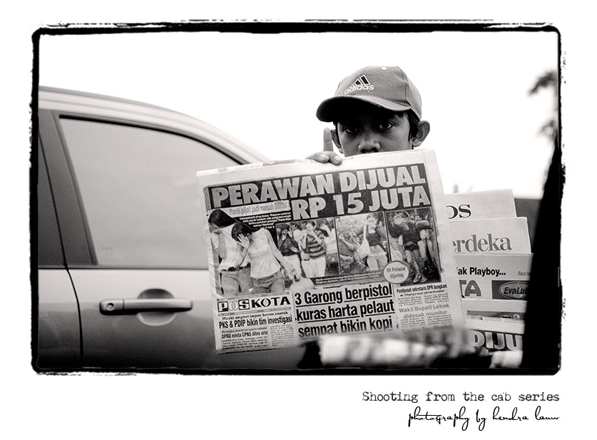 On the Streets of Jakarta – Shooting from the Cab