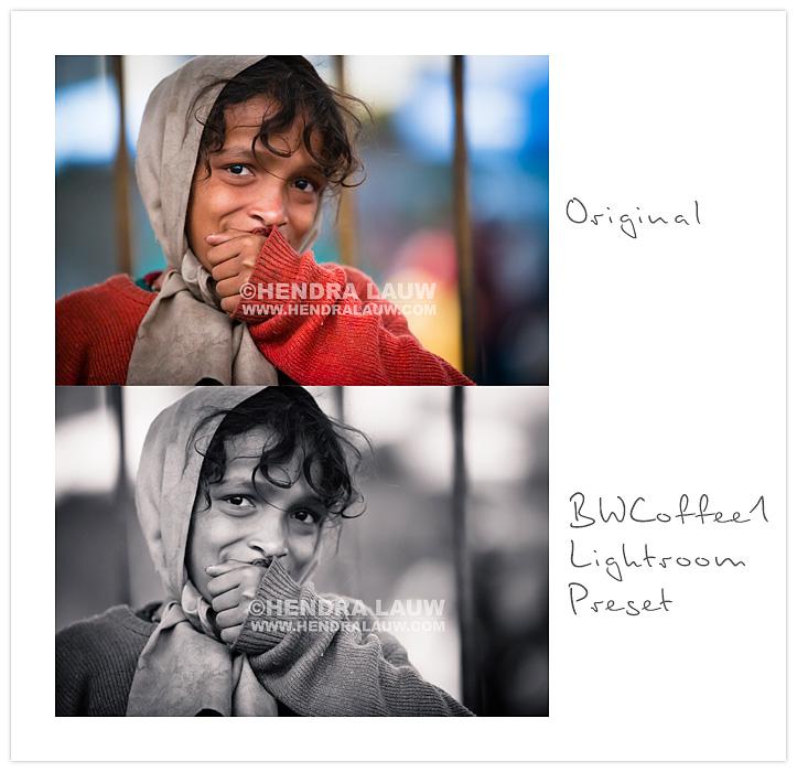Free Adobe Lightroom Preset – BWCoffee1