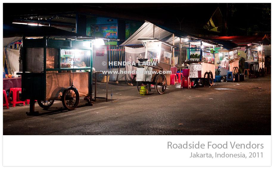 Jakarta Roadside Food Vendors