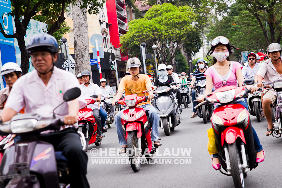 What To Shoot in Ho Chi Minh City – Motorcycles