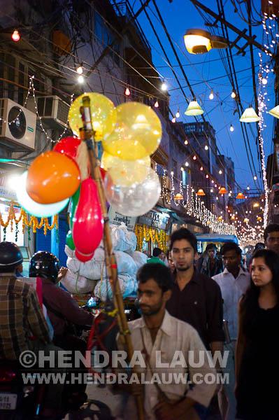 The Colorful Old Delhi