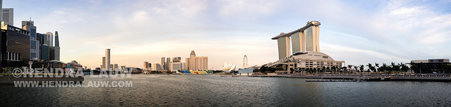 Singapore Marina Bay Panorama
