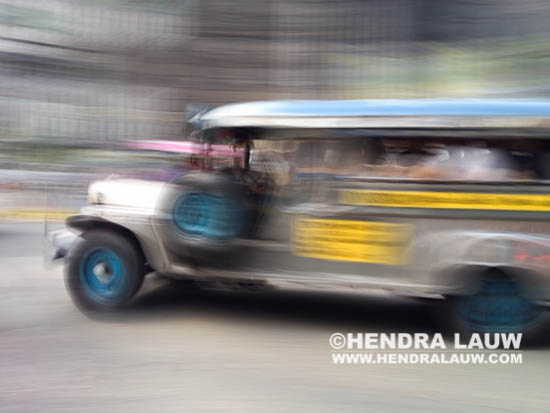 Panning Shot With iPhone – Jeepney