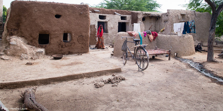 A Simple Village Life in Rajashtan