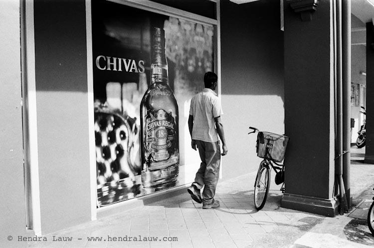 Johnnie Walker and Chivas