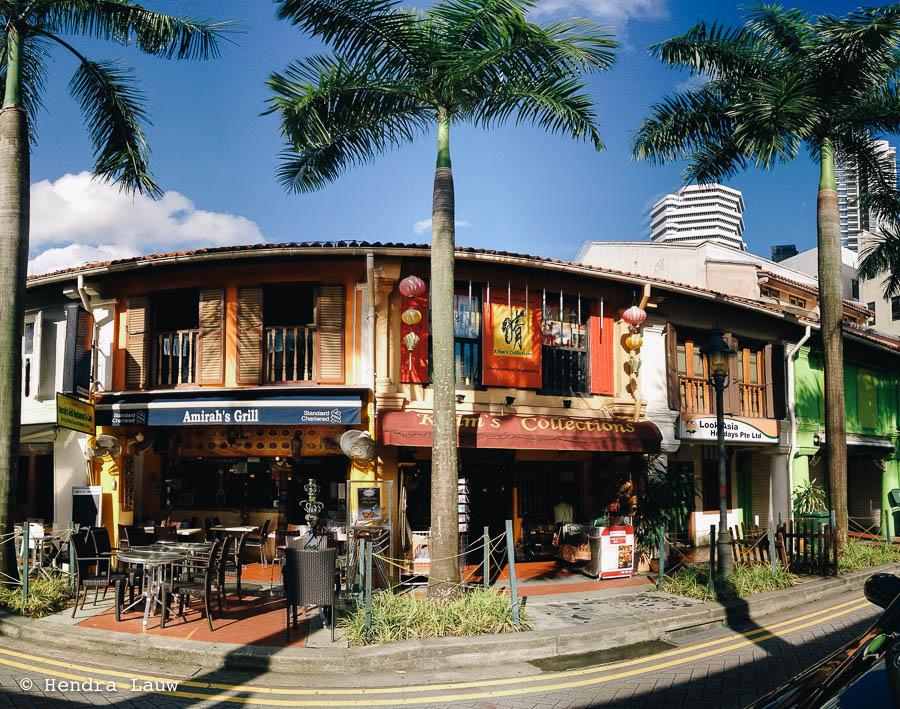 Bussorah Street Shophouses