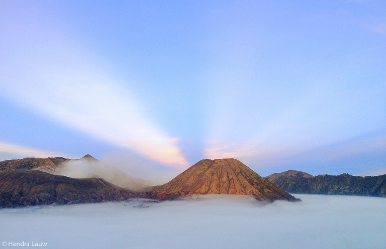 Shot on iPhone in Bromo - by Hendra Lauw