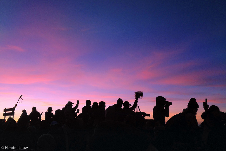 Sunrise in Bromo - shot on iPhone by Hendra Lauw