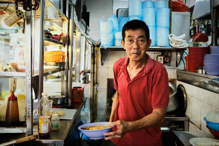 Katong Laksa owner - George